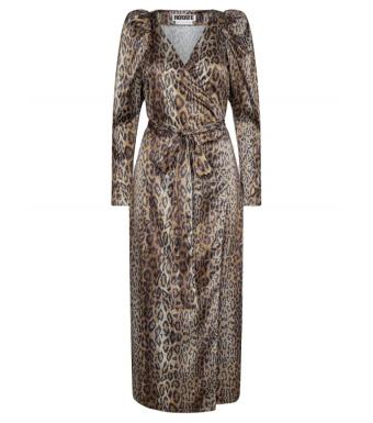Rotate Bridget Long Dress Rt523, Dijon Comb.