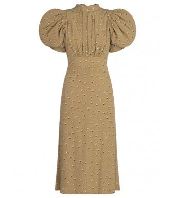 Rotate Dawn Dress, Kelp Comb.
