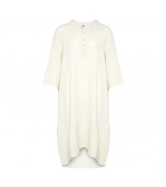 Tiffany Lång Skjortklänning 18970 Double Cotton Sabbia