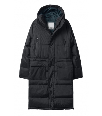 SHU Buttoned Jacket, Black