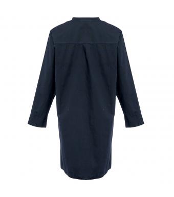 Tiffany Bomullsskjorta Ella Blue Navy