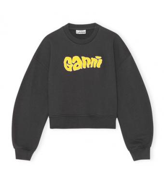 Ganni T2883 Sweatshirt Isoli, Phantom