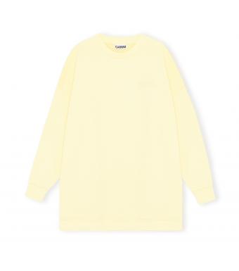 Ganni T2910 Oversized Sweatshirt Software Isoli, 304 Anise Flower