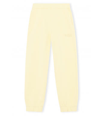 Ganni T2914 Elasticated Pants Software Isoli, 304 Anise Flower