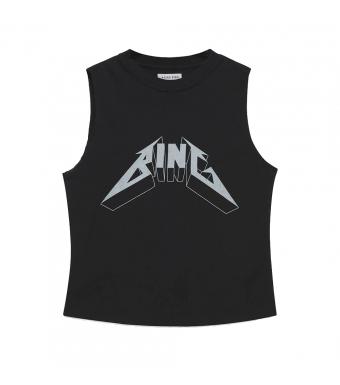 Anine Bing Lennon Tee Bing A-08-0186, Black