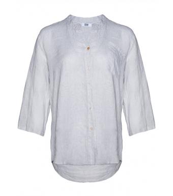 Tiffany Linneskjorta 18973 Pearl Grey