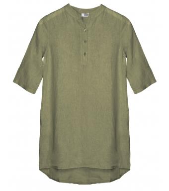 Tiffany 17690 Mini Long Shirt Linen, Army