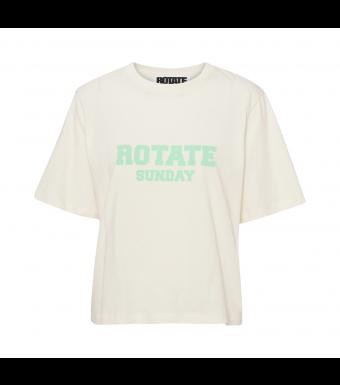 Rotate Sunday Aster T-shirt, Winter White