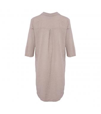 Tiffany Skjortklänning 17690 Double Cotton Nougat