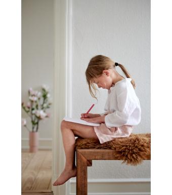 Tiffany 17691 Mini Shorts Linen, Rose