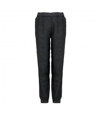 Tiffany Nimm Pant Linen, Antracit Grey