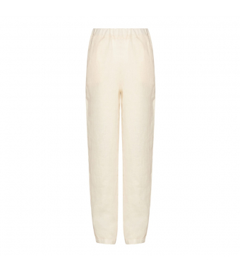 Tiffany Nimm Pant Linen, Butter Cream