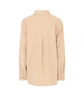Tiffany 20a279 Shirt Small Ribbed Corduroy, Kamel