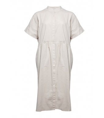 Tiffany Kjole 191391 Cotton Beige